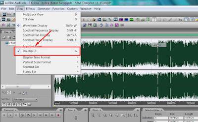 Cara Mengatasi Hilang Tombol Volume Gain otomatis di Adobe auditon Versi 3
