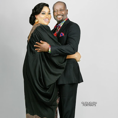 Mosun Filani and Husband Oduoye latest photos