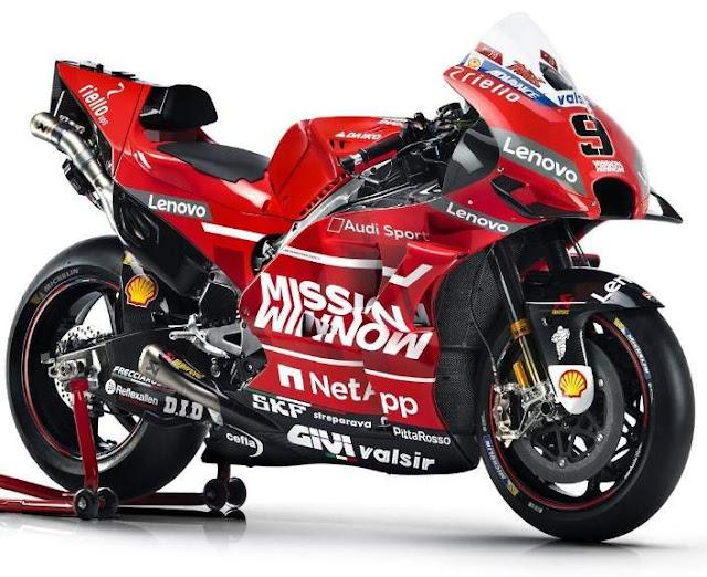 Livery Ducati Motogp 2019 Mission Winnow