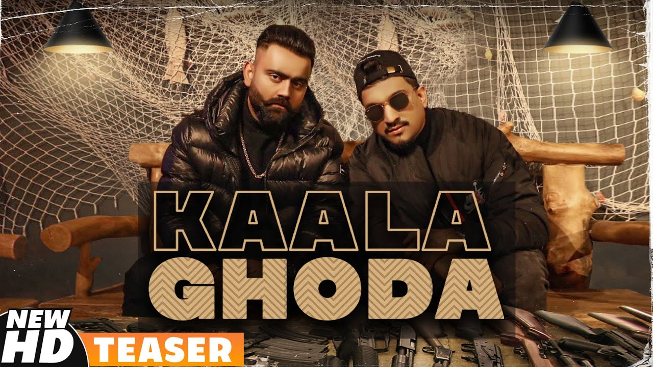 Kaala Ghoda Lyrics Amrit Maan x Divine Punjabi song