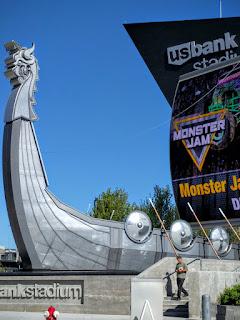 Minneapolis, Minnesota, home of the Vikings