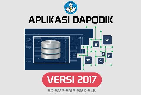 Aplikasi Dapodik Versi 2017 SD SMP SMA SMK SLB