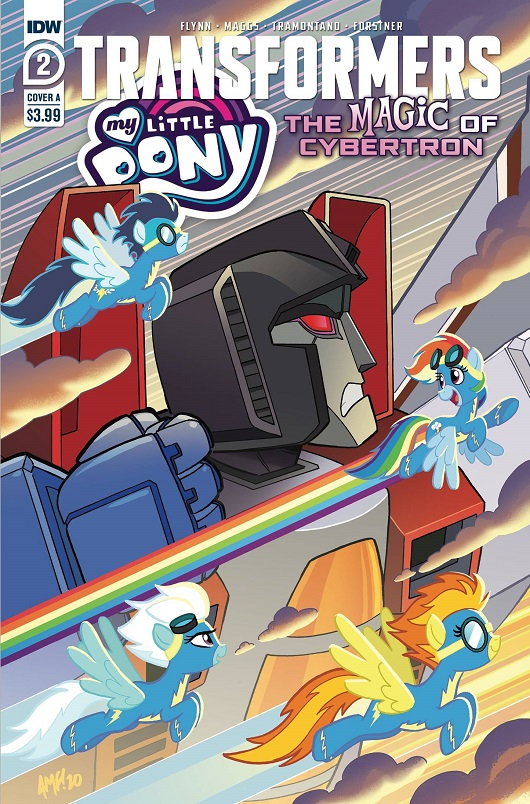 Cover of My Little Pony / Transformers II #2