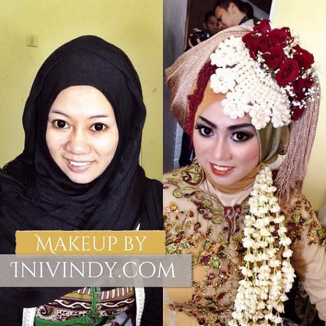 Ini Vindy Yang Ajaib: Makeup Natural dan Tutorial Hijab