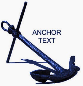 How to create anchor text in blogger
