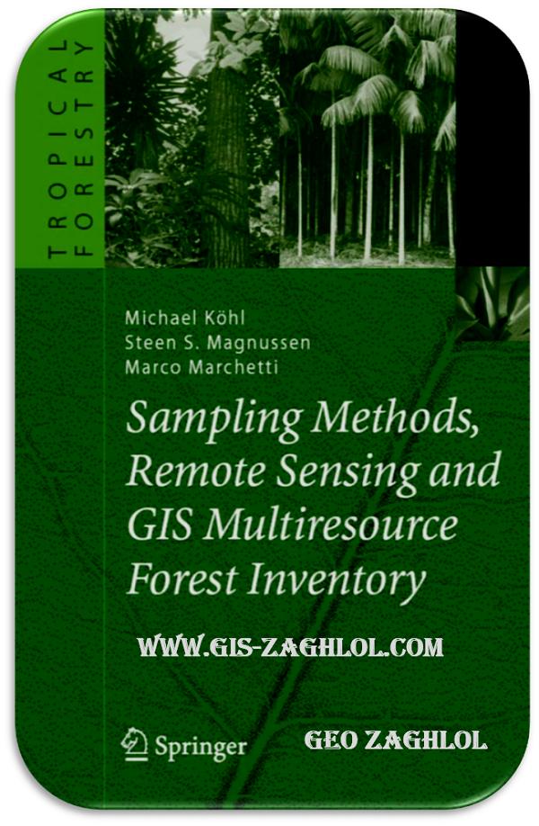 تحميل كتاب تطبيقات الاستشعار و نظم المعلومات الجغرافية في الغابات Remote Sensing and GIS Multiresource Forest Inventory
