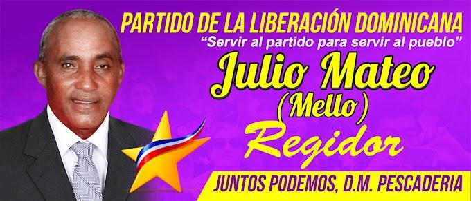 Pescadería: Julio Mateo (Mello) lanza su Pre-Candidatura a Regidor por el PLD