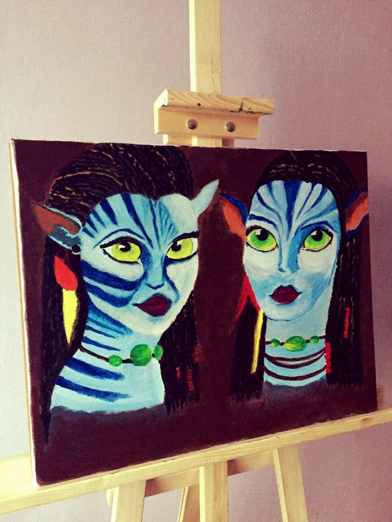 Obrazy Na Płótnie Farby Akrylowe Kultura I Sztuka Zblogowani