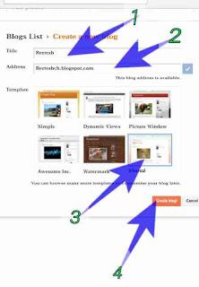 Blog website kaise banaye - Full guide 3