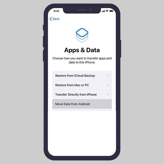 كيفية نقل ومزامنة بياناتك والايميل وجهات الاتصال من الاندرويد الي الايفون