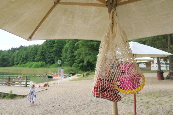 Szydełkowa  torba na plażę