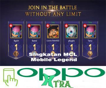 Singkatan MCL Mobile Legend