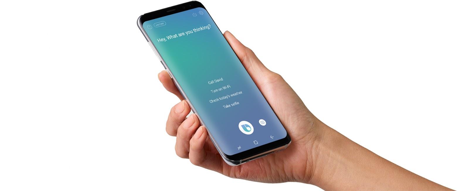 خدمة Bixby من سامسونج تسمح للمستخدمين تحويل الأموال
