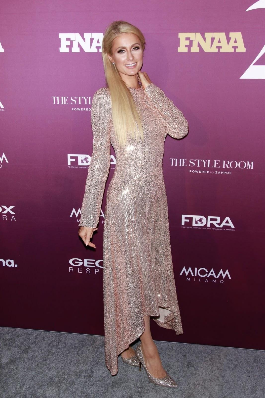 Paris Hilton – Footwear News Achievement Awards 2019