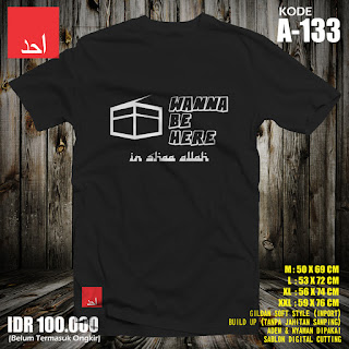 Wanna Be Here | Kaos Muslim Ahad