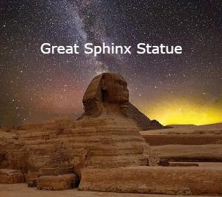 Great Sphinx statue