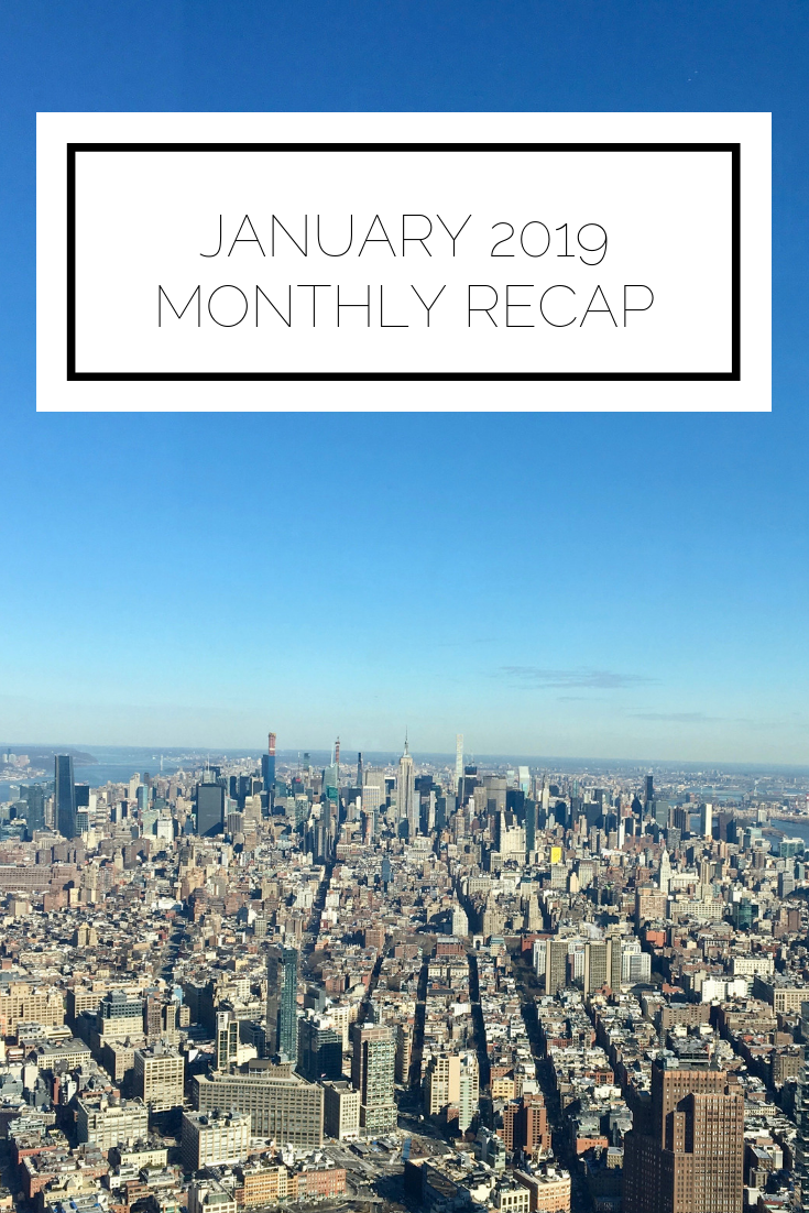 Click to read now or pin to save for later! Check out what I've been up to this month. From fun times with girlfriend, to work events, to finally visiting One World Trade, 2019 is off to a great start!