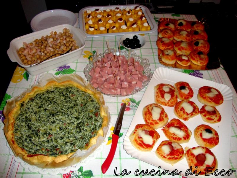 Top Buffet di compleanno per Enrico - La cucina di Ecco IL42