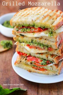 Grilled Mozzarella Sandwich Recipe