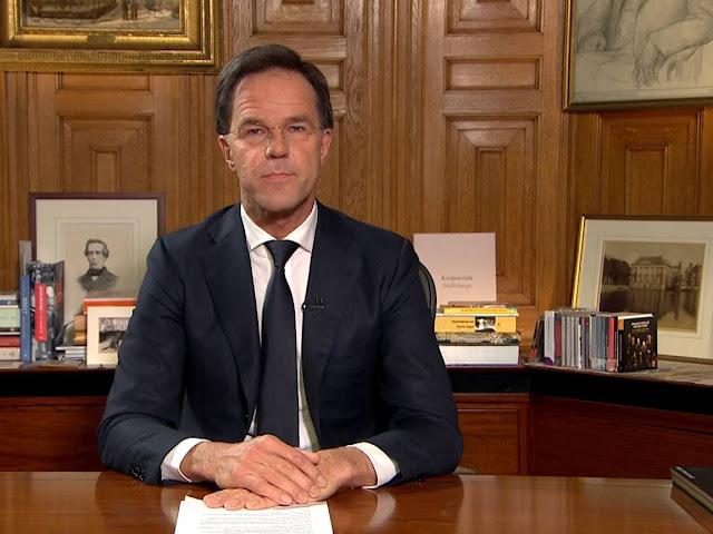 هولندا.. رئيس الوزراء مارك روتا: سيصاب جزء كبير من الهولنديين بفيروس كورونا