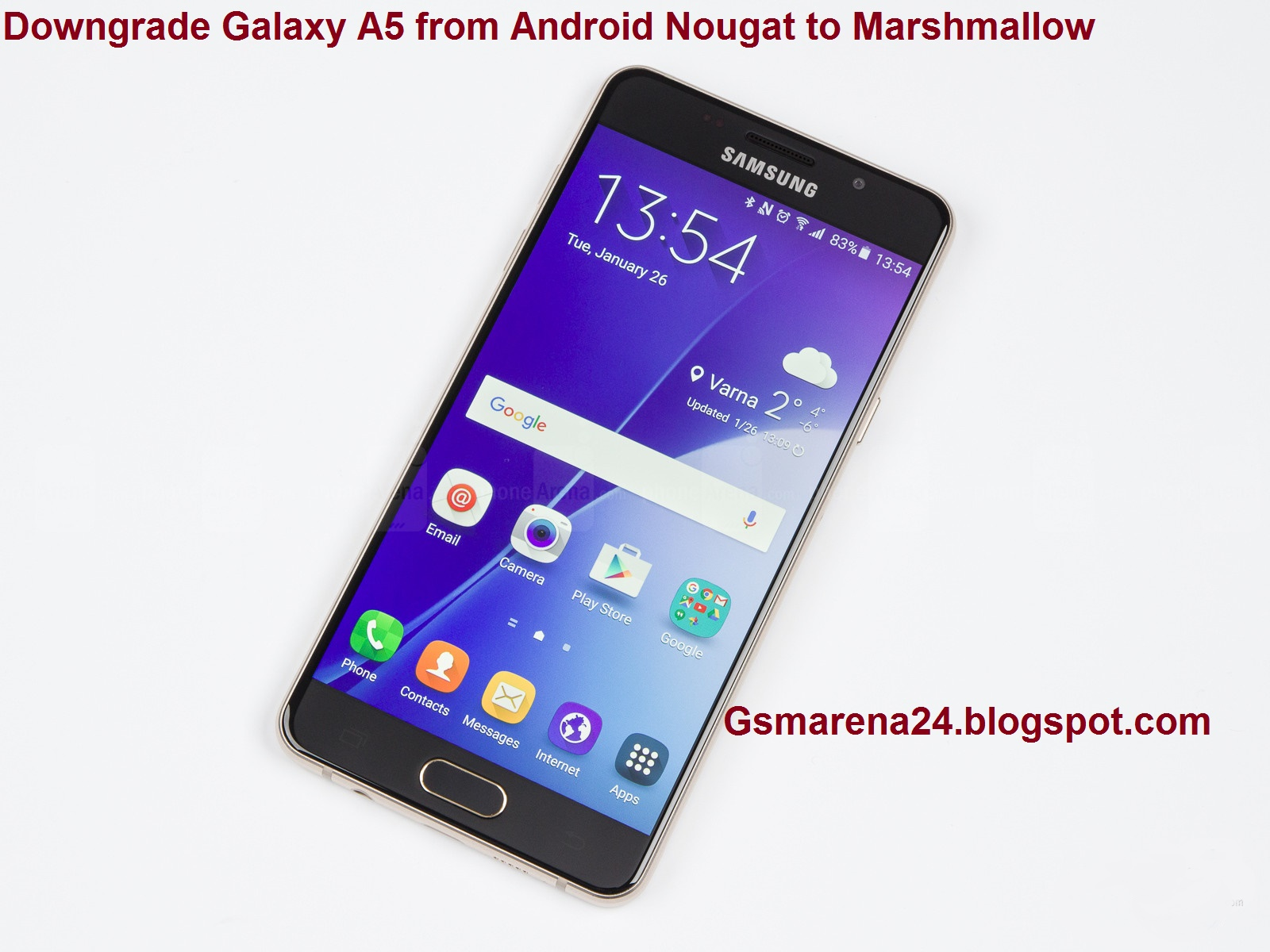 Downgrade Galaxy A5 from Android Nougat to Marshmallow