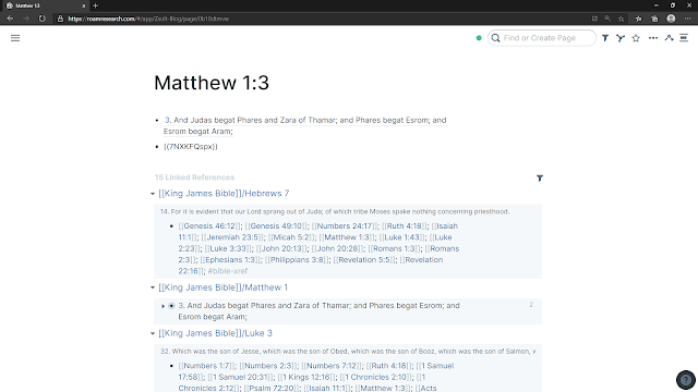 Block reference to Matthew 1:3