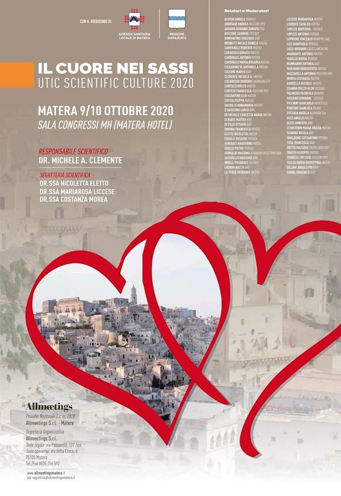 Il cuore nei sassi Utic Scientific Culture 2020