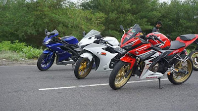 Honda CBR150R vs GSX-R150 vs R15