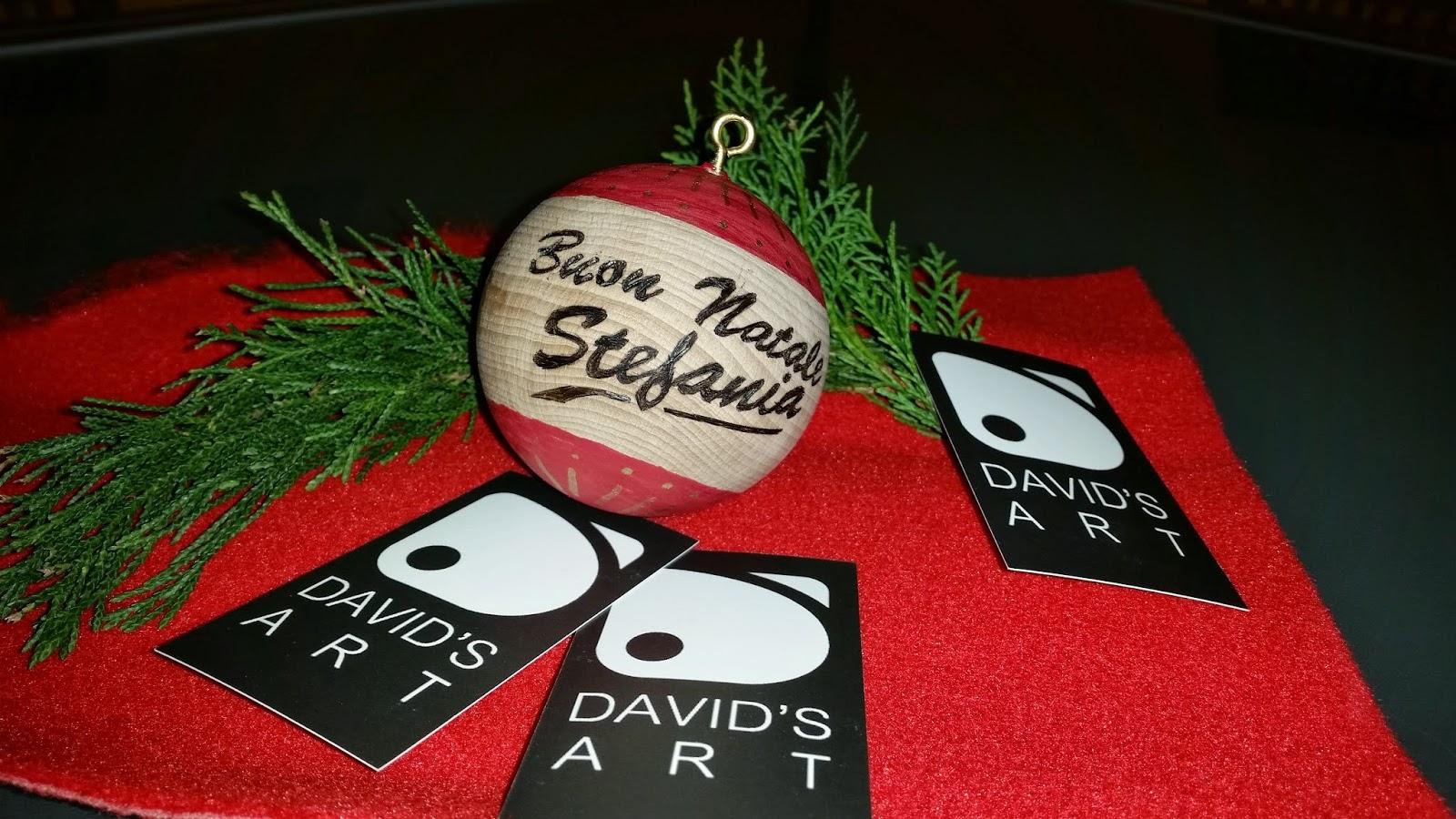 David 39 s art piccole idee regalo le vostre palline di natale - Piccole idee regalo per natale ...