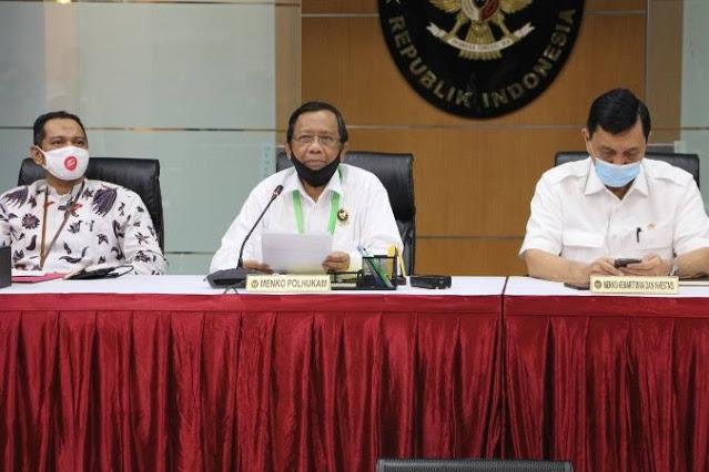 Jawab Andi Arief, Mahfud MD : Jenderal Tua yang Mana, Saya Sering Diskusi dengan SBY, Prabowo Dan LBP