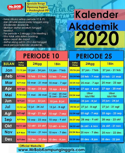 kalendek akademik 2020