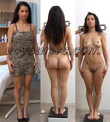 Gyno-clinic - Joceline 22 years, 44.5 kgs, 154 cm (Gynecologic Exams)
