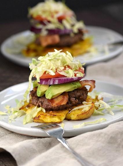 Smashed Potato Burgers