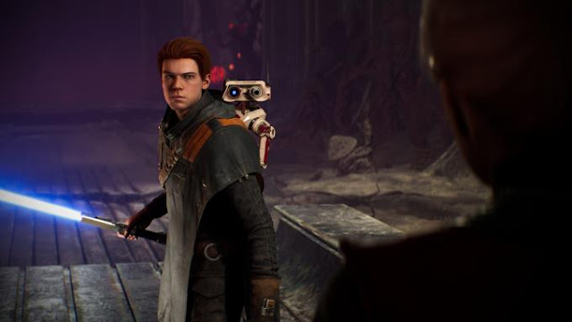 Star Wars Jedi Fallen Order is a new adventure in the third-person Star Wars universe.