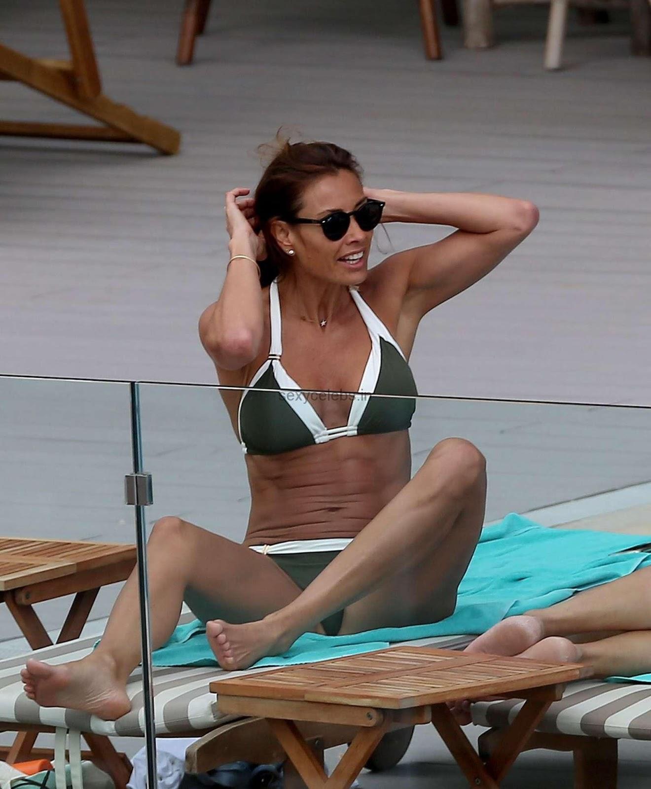 Melanie Sykes Sexy Hot Bikini Babe