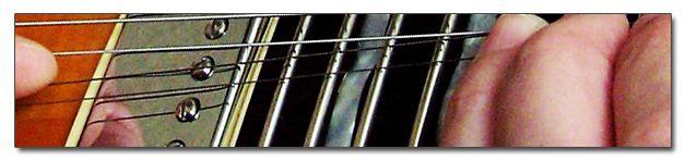 Bending o Estiramientos de las Cuerdas de la Guitarra