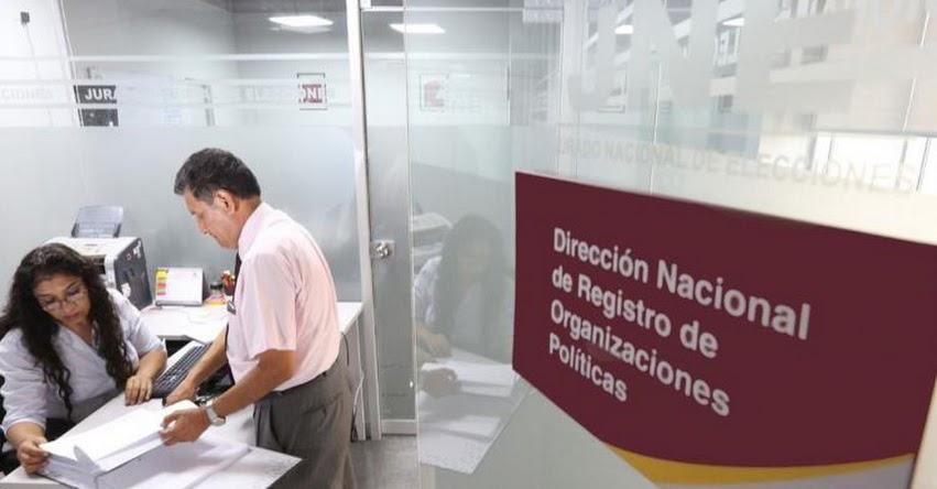 JNE: Lista de Partidos Políticos que perdieron su inscripción luego de las Elecciones Generales 2021