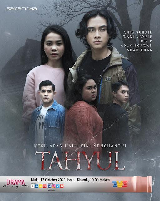 Drama Tahyul, Drama Slot Samarinda TV3, Info dan Sinopsis Drama Tahyul, Poster Drama Tahyul, Drama Tahyul Full Episode, Drama Tahyul Cast, Pelakon - Pelakon Drama Tahyul TV3,