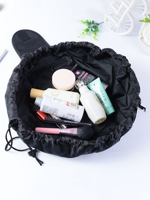 $4.79 / €4.11 Shipped for Travel Makeup Drawstring Pouch Bag Organizer