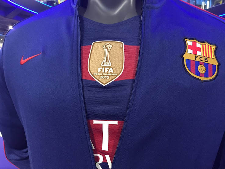 007a28db4 FC Barcelona to Debut Club World Cup Winners Badge - Footy ...