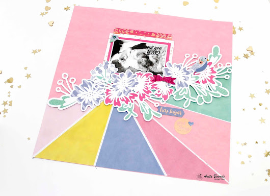 hey sugar layout with Anita Bownds
