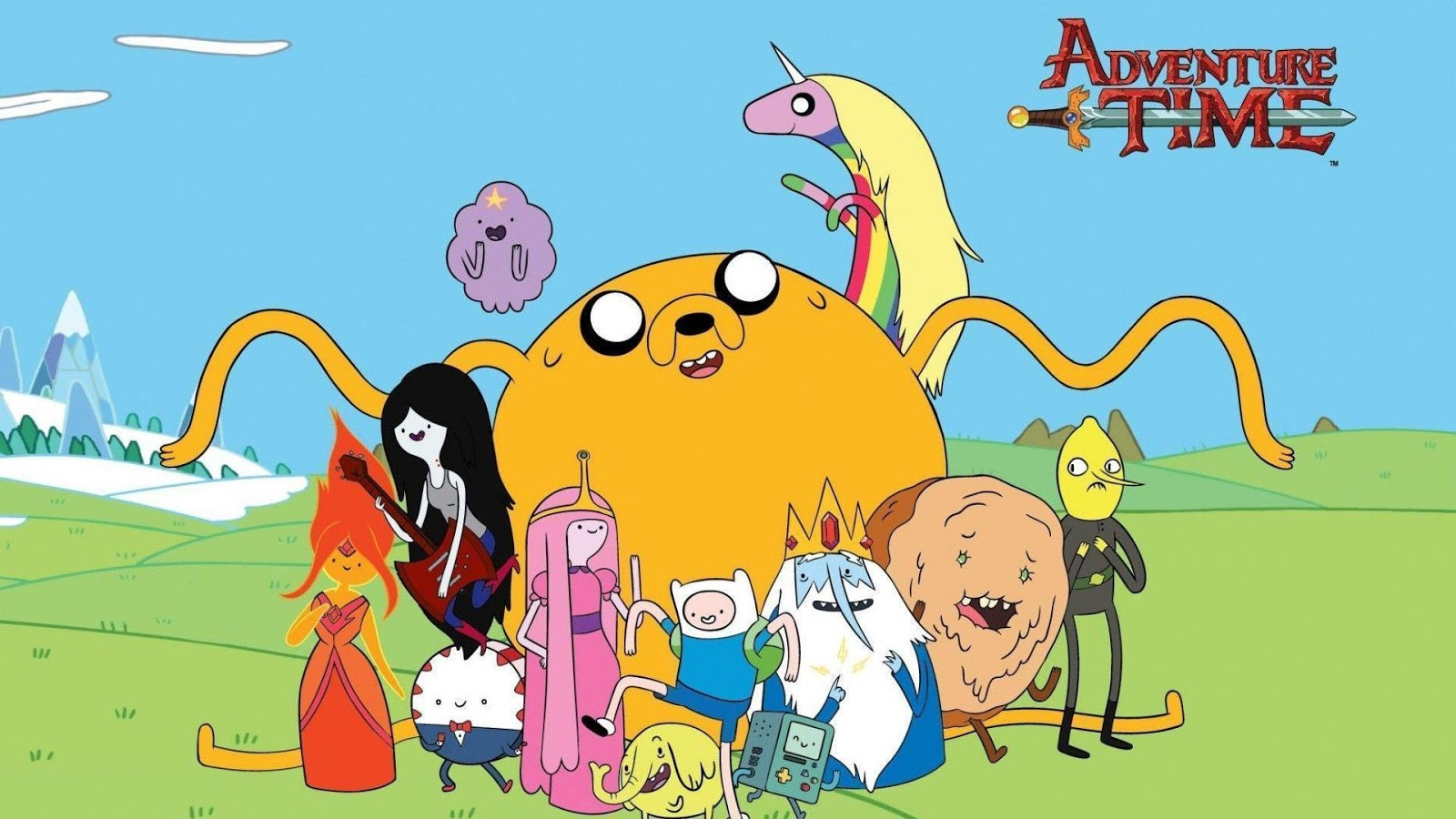 Adventure Time Widescreen Wallpapers 10 Wallpapers