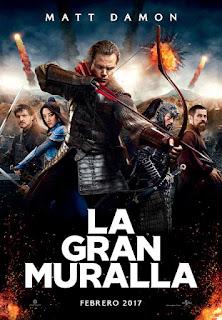 Cartel: La gran muralla (2016)
