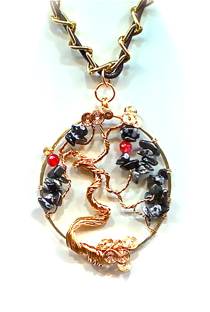 Wireworkers guild mothers day tree of life tree of life pendant tutorial this is such a classic symbolic design and can be put on a card hung as a necklace or suspended mozeypictures Choice Image