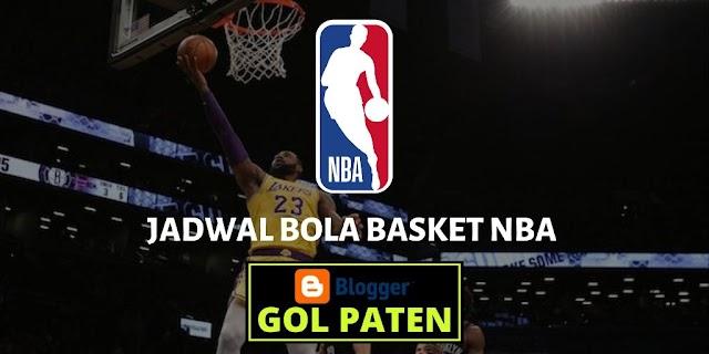Jadwal Pertandingan Basket NBA USA 13 Desember 2019