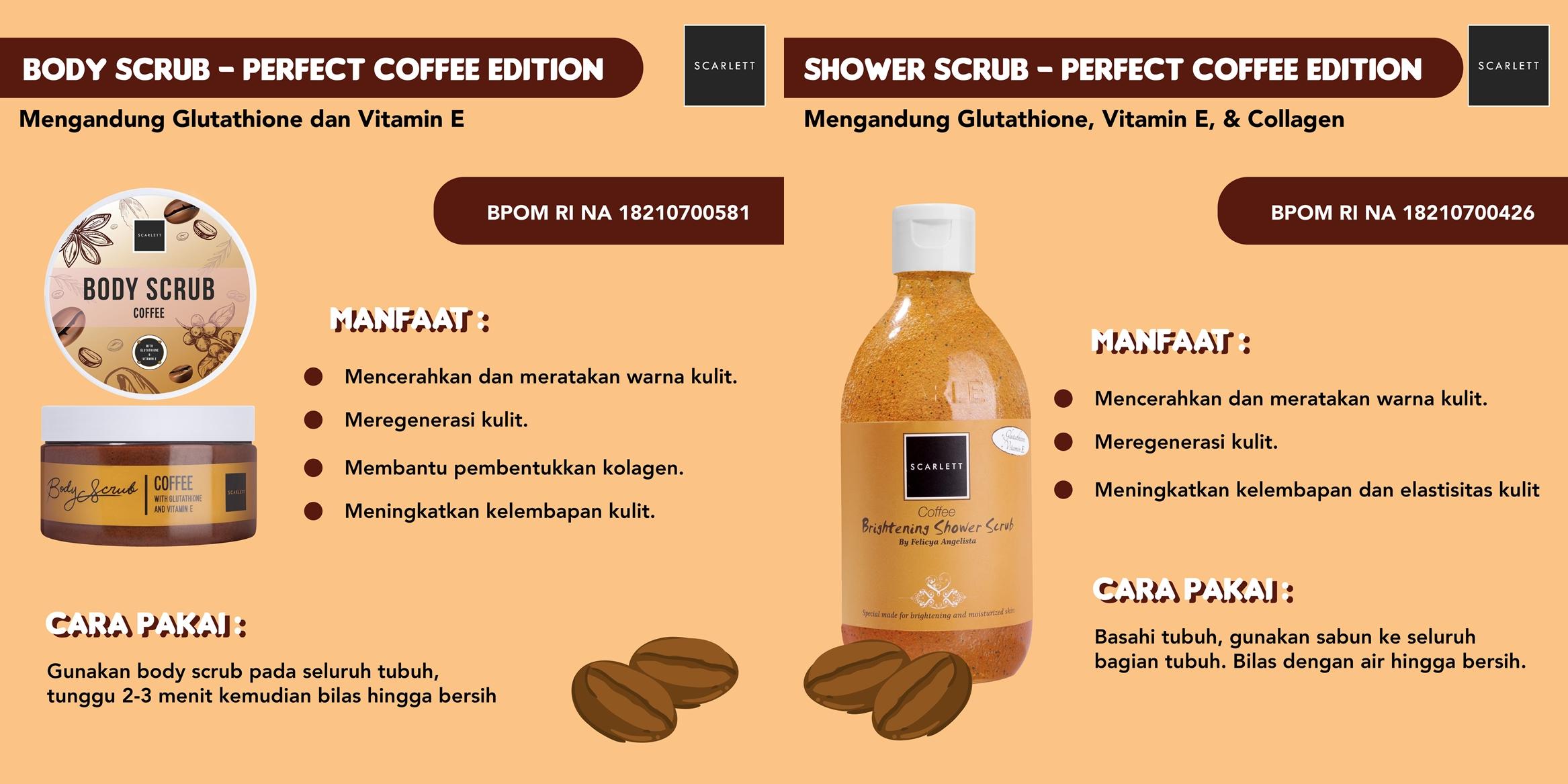 Scarlett Whitening Perfect Coffee Edition by feryarifian
