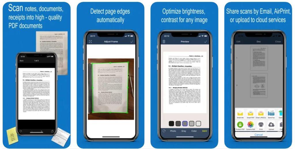 Fast Scanner : PDF Doc Scan - A scanner in your pocket