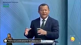 Candidato a prefeito pelo MDB, Nilvan ferreira sai em defesa de Cássio Cunha Lima em debate