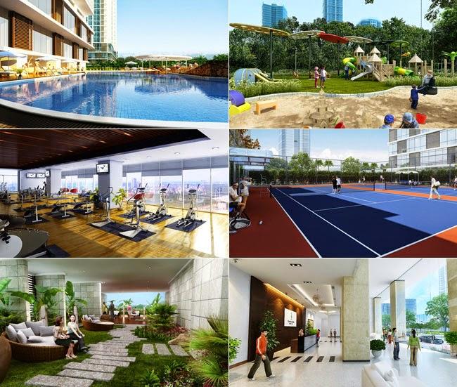 Tiện ích chung cư Park View Residence Dương Nội