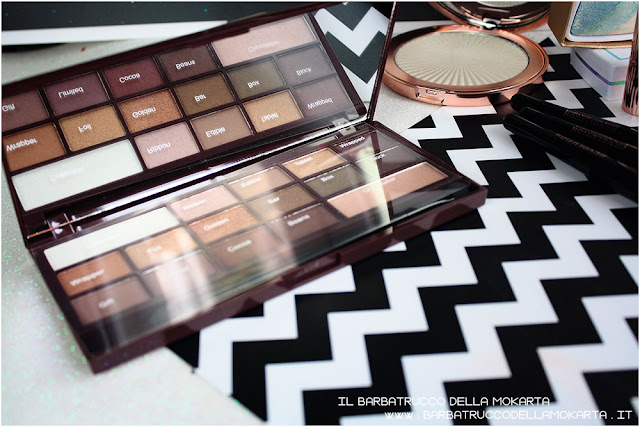 golden Bar makeup revolution palette choccolate recensione review